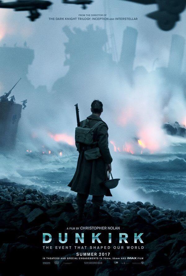 """Crítica de """"Dunkerque"""", de Christopher Nolan, con Tom Hardy"""