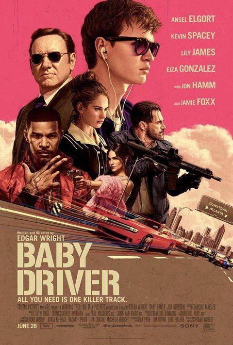"""Crítica de """"Baby Driver"""", de Edgar Wright, con Ansel Elgort y Kevin Spacey"""