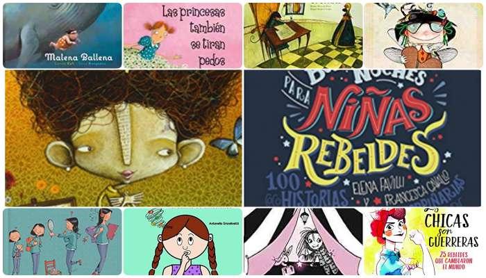 10 cuentos infantiles ¡con protagonistas niñas!