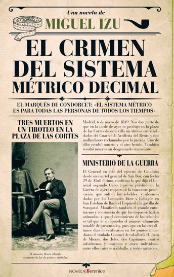 """Reseña de """"El crimen del sistema métrico decimal"""", de Miguel Izu"""