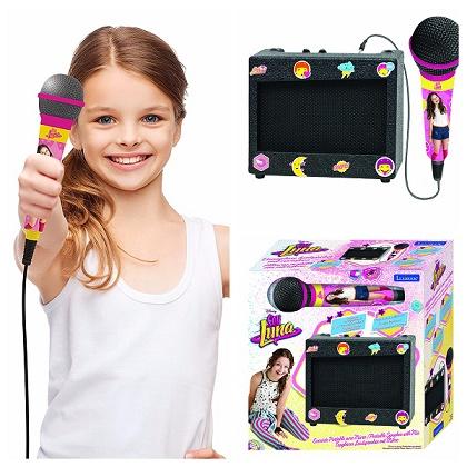 Karaoke portátil Soy Luna ¡Diviértete estas Navidades con Soy Luna!