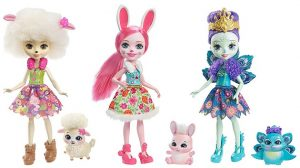 Pack de tres muñecas Enchantimals