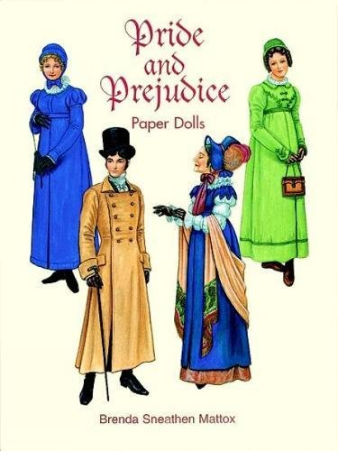 Paper dolls Pride and Prejudice Jane Austen