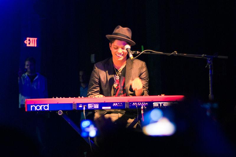 Bruno Mars vuelve a España en 2018 en su gira europea