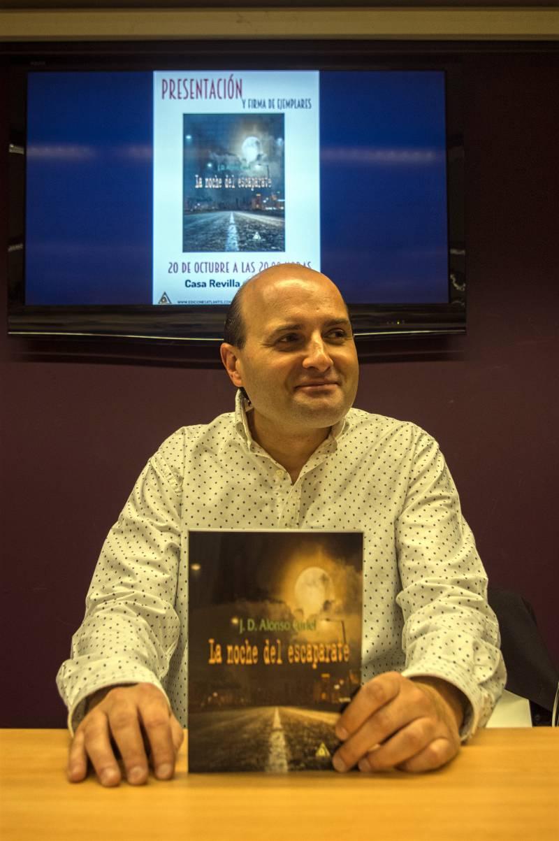 El escritor de Valladolid Jorge Curiel