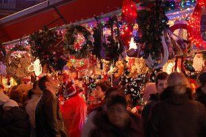 puestos de navidad de la Plaza Mayor