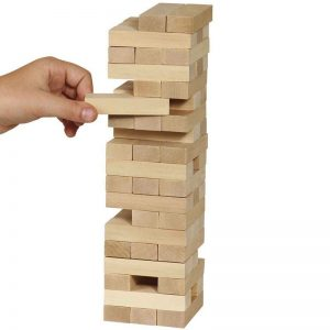 Juego familiar - Torre de bloques