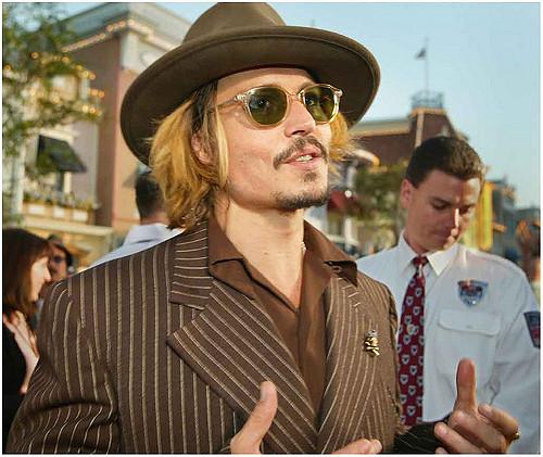 Asesinato en el tren de Johnny Depp