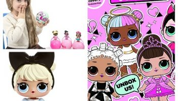 cómo son las muñecas LOL Surprise originales