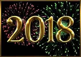 Nochevieja 2017 y Año nuevo 2018
