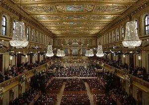 Concierto de Año Nuevo en la Musikverein de Viena