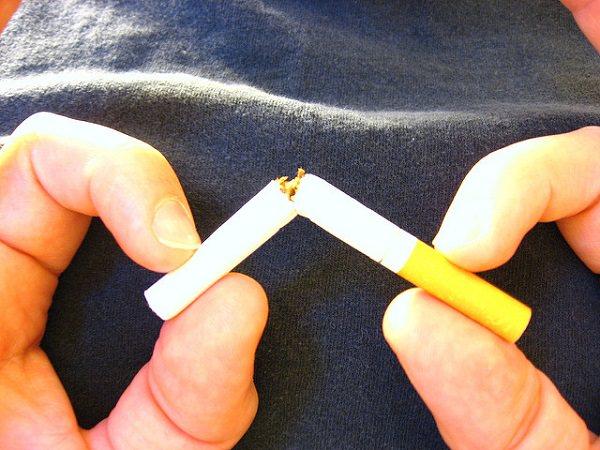 Logra dejar de fumar para el año nuevo