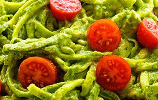 Receta de espaguetis de calabacin