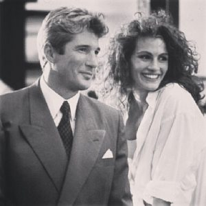julia roberts richard gere rodaje