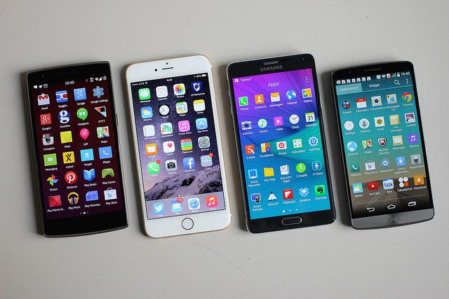 Los mejores smartphones para la Navidad en 2017