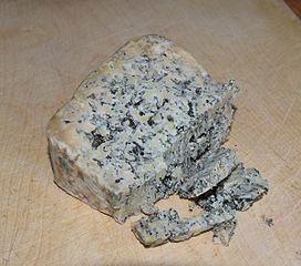 Trozo de queso Cabrales