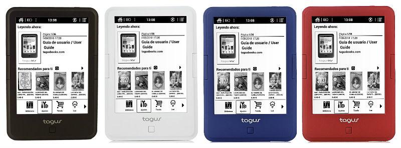 Tagus Iris 2018: características y precio del nuevo ereader de la Casa del Libro
