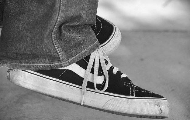 Zapatillas Vans, nunca pasan de moda