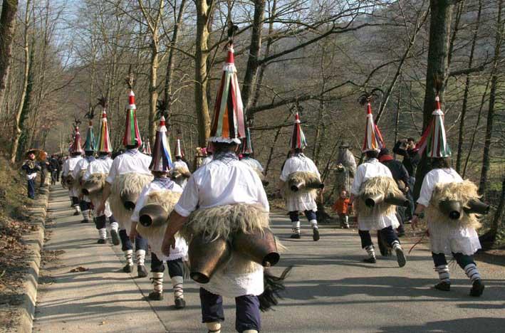 Inauteriak, el carnaval llega a Navarra