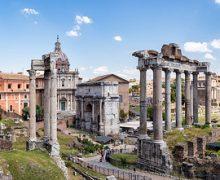 El Foro Romano es uno de los pilares básicos de la Roma mñas turística