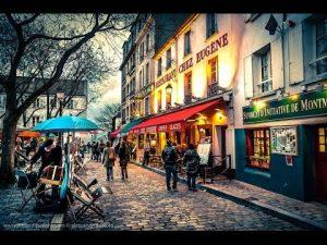 Montmartre representa el Paris más bohemio