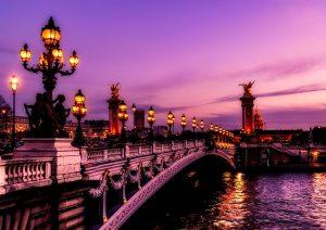 Los puentes parisinos sobre el Sena son uno de los principales atractivos de la Ciudad de la Luz