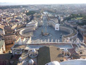 La Ciiudad del Vaticano, uno de los lugares más visitados de Roma