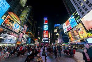 Times Square es la estampa mas fotografiada de Nueva York