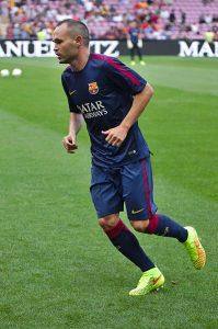 Treinta y dos títulos ha conseguido Iniesta en sus 16 temporadas de azulgrana