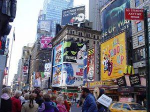 En Nueva York se pueden contemplar los mejores espectaculos musicales.