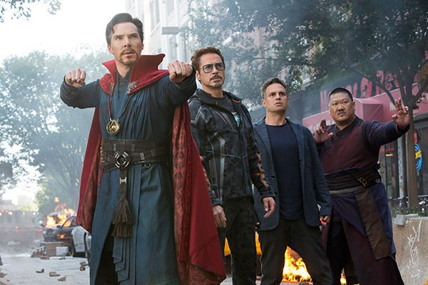"""Crítica de """"Vengadores: Infinity War"""", de Joe y Anthony Russo, con Robert Downey, Jr., Chris Hemsworth y Chris Pratt"""