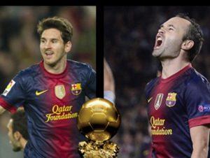 La revista France Football ha pedido perdón por no haber dado el Balón de Oro a Iniesta