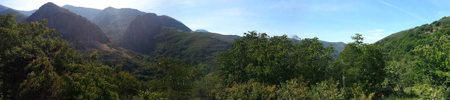 Vistas desde el aparcamiento de Peñalba de Santiago del Valle del Silencio