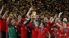 España se encuentra entre los favoritos para ganar el Mundial de fútbol Rusia 2018