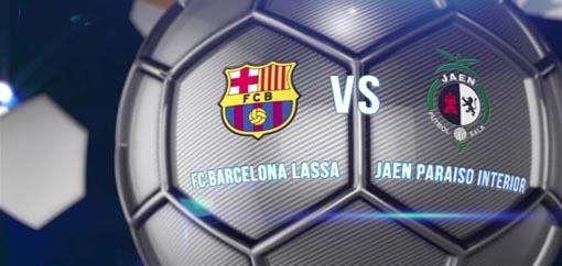 FC Barcelona Lassa - Jaén Paraíso Interior, duelo por el título de Copa del Rey de fútbol sala