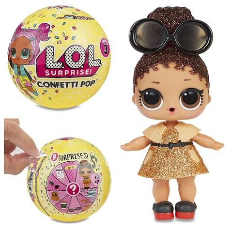 Muñecas LOL Confetti Pop ¡Descubre las muñecas más adorables!