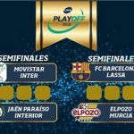 Los cuatro mejores equipos de la liga, a por el título final