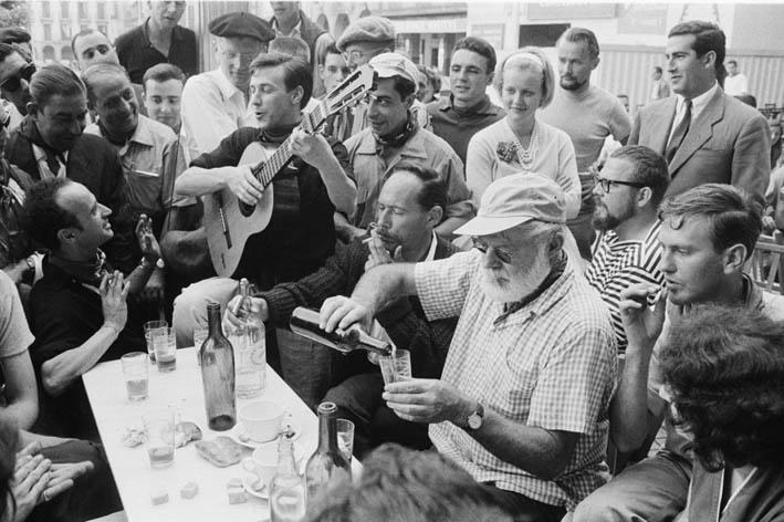 """Los sanfermines, una fiesta internacional gracias a """"Fiesta"""" de Ernest Hemingway"""