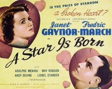 Janet Gaynor y Fredric March Ha Nacido una Estrella