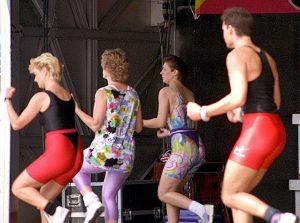 El aerobic acrecienta la flexbilidad y coordinación