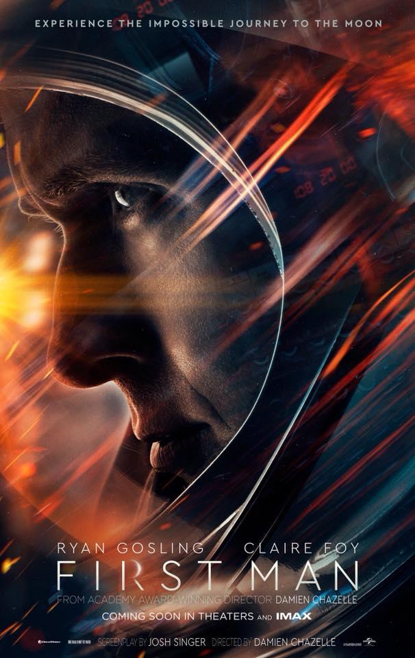 """Crítica de """"El Primer Hombre en la Luna (First Man)"""": El viaje espacial de Damien Chazelle"""