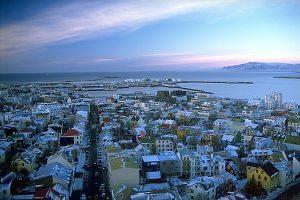 La capital de Islandia, una sinfonia de colores