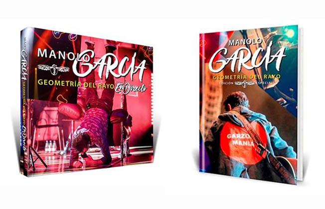 """Dos ediciones especiales de """"Geometría del rayo"""", un regalo para concluir el gran año de Manolo García"""