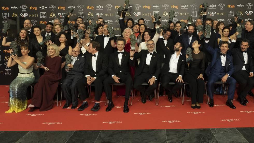 """Crónica de la gala de los Premios Goya 2019: """"Campeones"""", mejor película"""