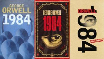 Cubiertas de novela George Orwell