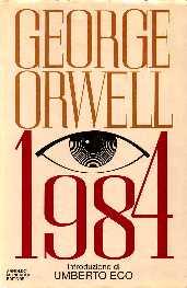 cubierta de novela de George Orwell