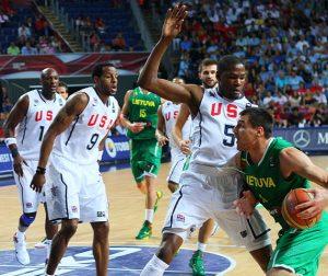 """Estados Unidos conformará un nuevo """"Dream Team"""" para lograr un nuevo oro."""