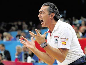 Scariolo intentará conseguir la segunda medalla mundialista para España