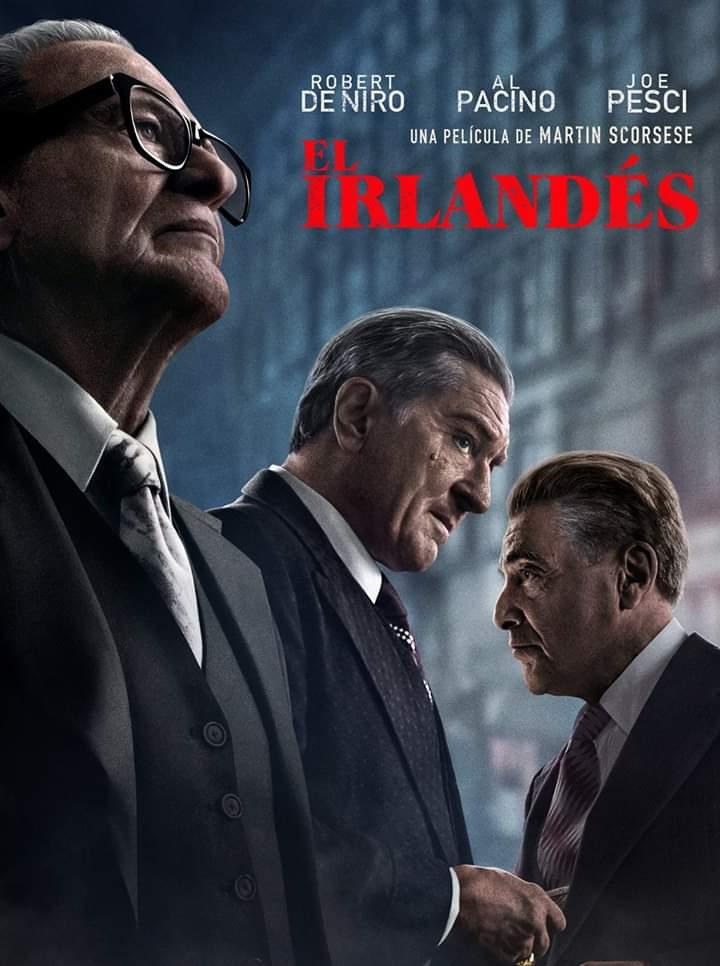 """Crítica de """"El Irlandés"""", de Martin Scorsese: La Desaparición de Jimmy Hoffa"""