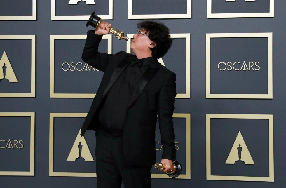 """""""Parásitos"""" hace historia en los Oscar 2020"""